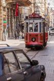 Istanbuł tramwaj Fotografia Stock