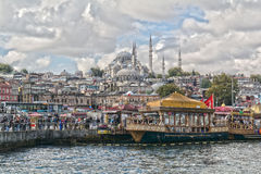 Istanbuł, Turcja Bosphorus Morze †‹â€ ‹Marmara Obraz Royalty Free