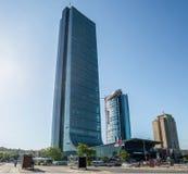 Istanbuł Turcja, Maj, - 10, 2015: Istanbuł szafir lub szafir, jesteśmy drapaczem chmur 2016, i jak wysoki budynek w Istanbuł Zdjęcia Stock