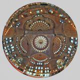 ISTANBUŁ TURCJA, MARZEC, - 24, 2012: Kopuła Sultanahmet meczet Obrazy Stock