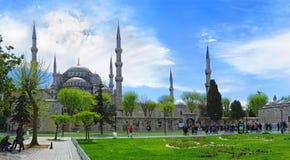 ISTANBUŁ, TURCJA -- OKOŁO KWIECIEŃ 2014: Hagia Sophia Muzeum wewnątrz Obraz Royalty Free