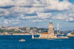 Istanbuł, Turcja, Październik! , 2011: Dziewczyny wierza fotografia stock