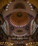 Istanbuł, Turcja - 6 12 2018: Sułtanu Suleiman meczet obraz stock
