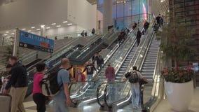 Istanbuł wejściowy Lotniskowy eskalator zdjęcie wideo