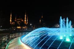 Istanbu? - Kolorowa fontanna fotografia stock