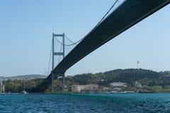 Istanbuł most Zdjęcia Royalty Free