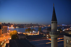 Istanbu, night view Stock Images