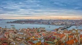 Istanbuł panorama Zdjęcie Royalty Free