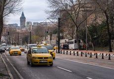 Istanbuł taxi Zdjęcie Stock