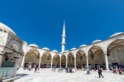 Istanbuł widoki Sultanahmet meczet Zdjęcia Stock