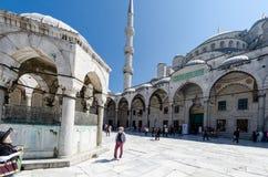 Istanbuł widoki Sultanahmet meczet Zdjęcia Royalty Free