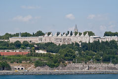 Istanbul. On the Bosphorus, home of 4000 mosques and spanning 2 continents - Europe and Asia Royalty Free Stock Photos