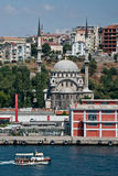 Istanbul. On the Bosphorus, home of 4000 mosques and spanning 2 continents - Europe and Asia Royalty Free Stock Photography