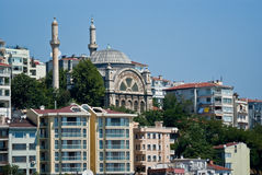 Istanbul. On the Bosphorus, home of 4000 mosques and spanning 2 continents - Europe and Asia Stock Photo