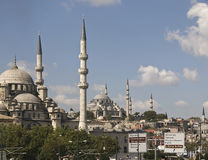 Istanbul. Mosques from istanbul by sunshine Stock Images