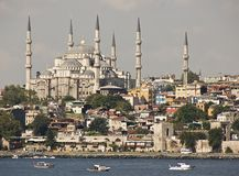 Istanbul. The blue mosque from istanbul by sunshine Royalty Free Stock Photos