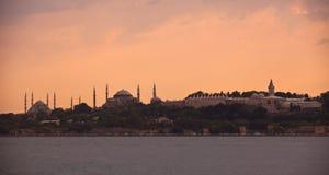 Istanbul. Topkapi palace, blue mosque, hagia sophia Stock Images