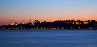 Istanbul. Topkapi palace, blue mosque, hagia sophia Royalty Free Stock Photo