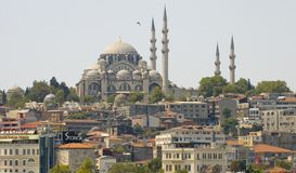 Istanbul. The cityscape of Istanbul Turkey Royalty Free Stock Photos