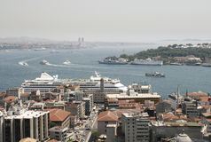 Istanbul from above Royalty Free Stock Photography