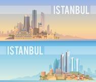 Istanbul Abstrakte Formen Stockfotografie