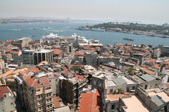 Istanbul aerial view Royalty Free Stock Photography