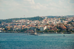 istanbul aerial view of the istambul turkey Stock Image