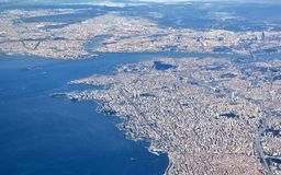 Istanbul, Aerial View Royalty Free Stock Photo