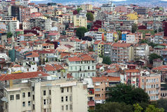 Istanbul aerial view. Stock Images