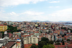 Istanbul aerial view. Stock Photo