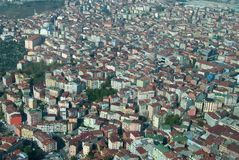 Istanbul from air Stock Photo