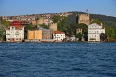 Istanbul Anadolian castle Royalty Free Stock Photos