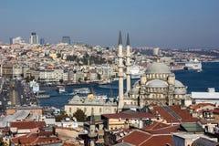 Istanbul-Anblick Stockfoto