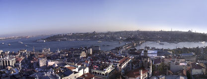 Istanbul (Ancient Peninsula) View From Galata Towe Stock Photo