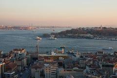 Istanbul-Ansicht Lizenzfreies Stockbild