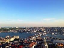 Istanbul-Ansicht Lizenzfreie Stockbilder