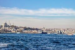 Istanbul-Ansicht Lizenzfreies Stockfoto