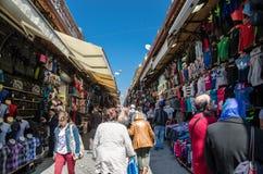 Istanbul-Ansichten Alter Markt Großartiger Bazar Stockbild