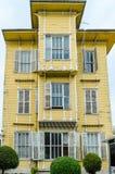 Istanbul-Ansichten Altes Gebäude Stockbild