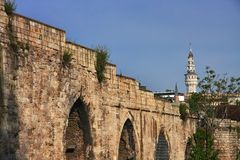 Istanbul aqueduct Stock Photos