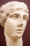 Istanbul Archaeology Museum. ISTANBUL, TURKEY - MAY 16, 2015: Istanbul Archaeology Museum exhibits of sculptures and bas-reliefs of antiquity on MAY 16, 2015 in Stock Photo
