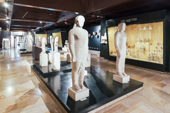 Istanbul Archaeology Museum. ISTANBUL, TURKEY - SEPTEMBER 07, 2014: Istanbul Archaeology Museum on September 07, 2014 in Istanbul, Turkey Royalty Free Stock Photo
