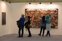 Istanbul Art Fair Arkivbilder