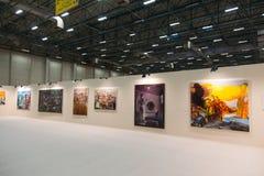 Istanbul Art Fair Arkivfoto