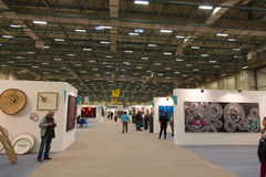 Istanbul Art Fair Arkivbild
