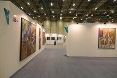 Istanbul Art Fair Royaltyfria Foton