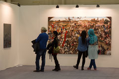 Istanbul Art Fair Stock Images