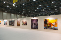 Istanbul Art Fair Stock Photo