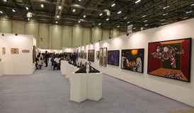 Istanbul Art Fair Royalty Free Stock Photo