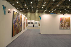 Istanbul Art Fair Royalty Free Stock Photos